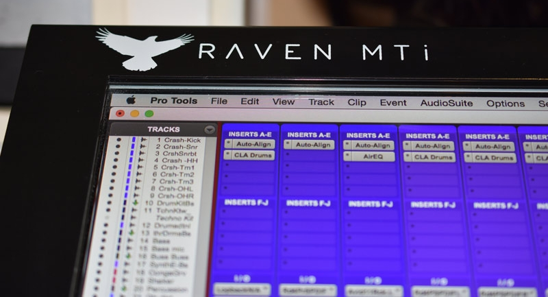 Slate Raven MTi pro tools control surface