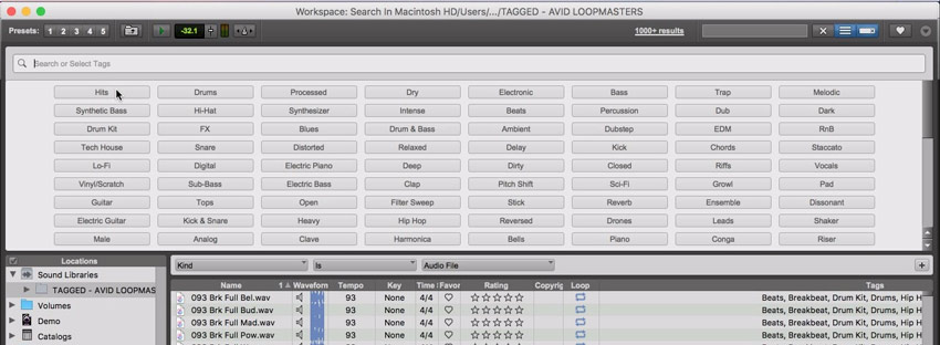 Pro Tools 12.7 Announced With Tagging in SoundBase