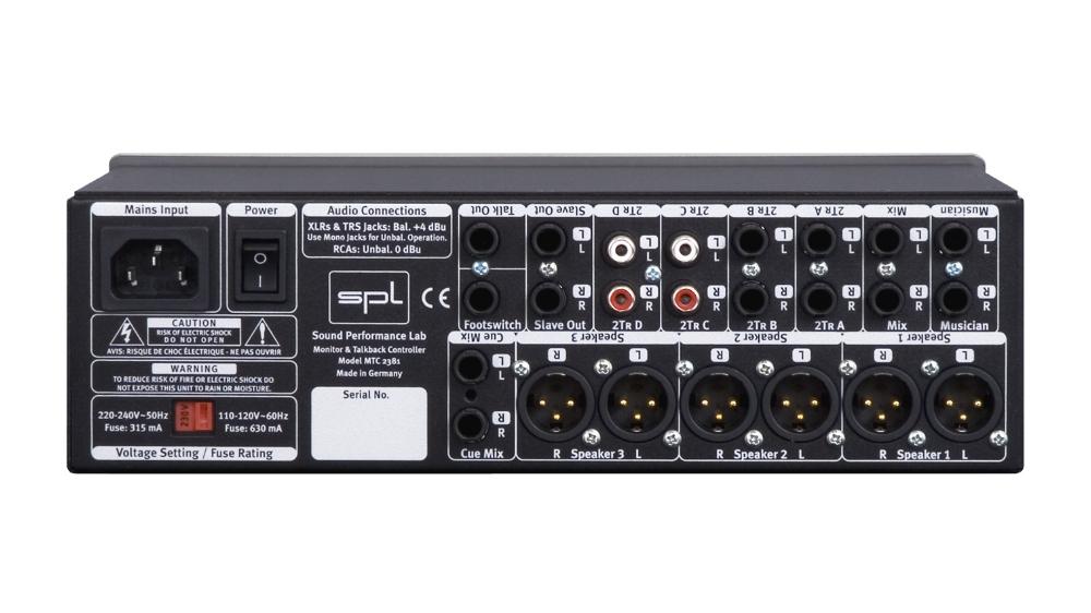 SPL monitor and talkback controller model 2381 rear.jpg