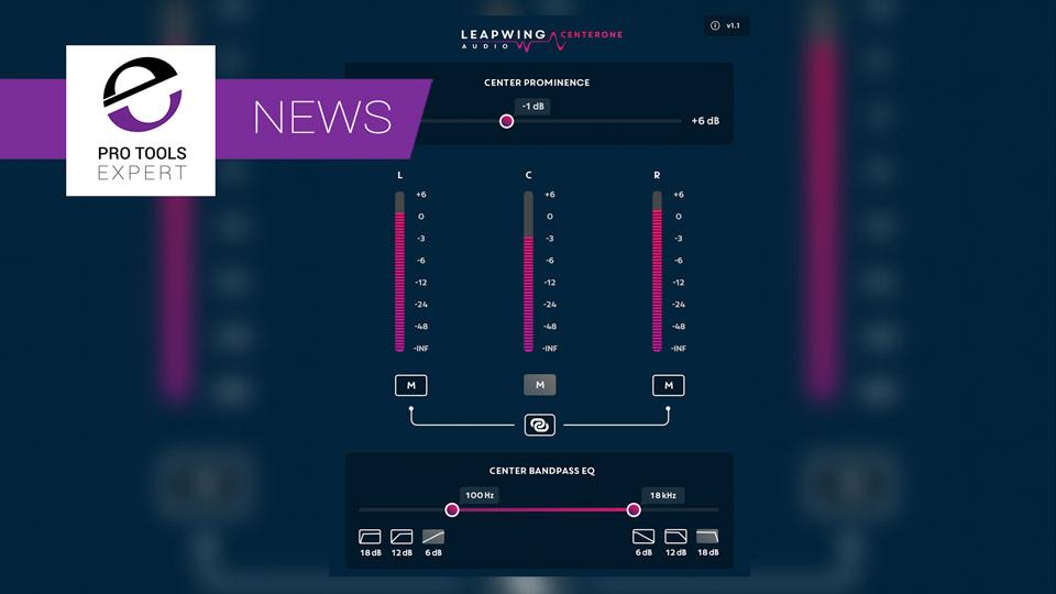 Leapwing Audio Release CenterOne Plugin