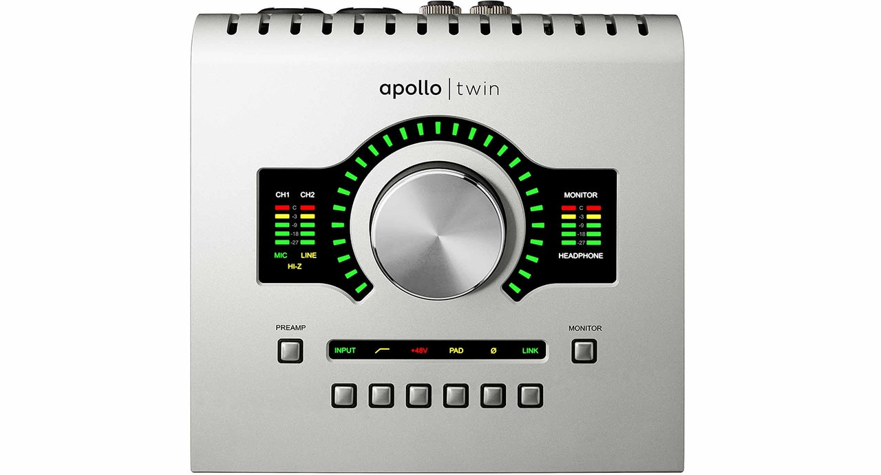 apollo twin from top