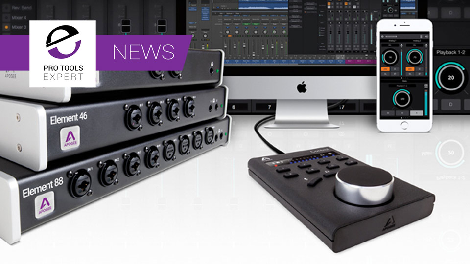Apogee Announce Element Series Update And Apogee Control