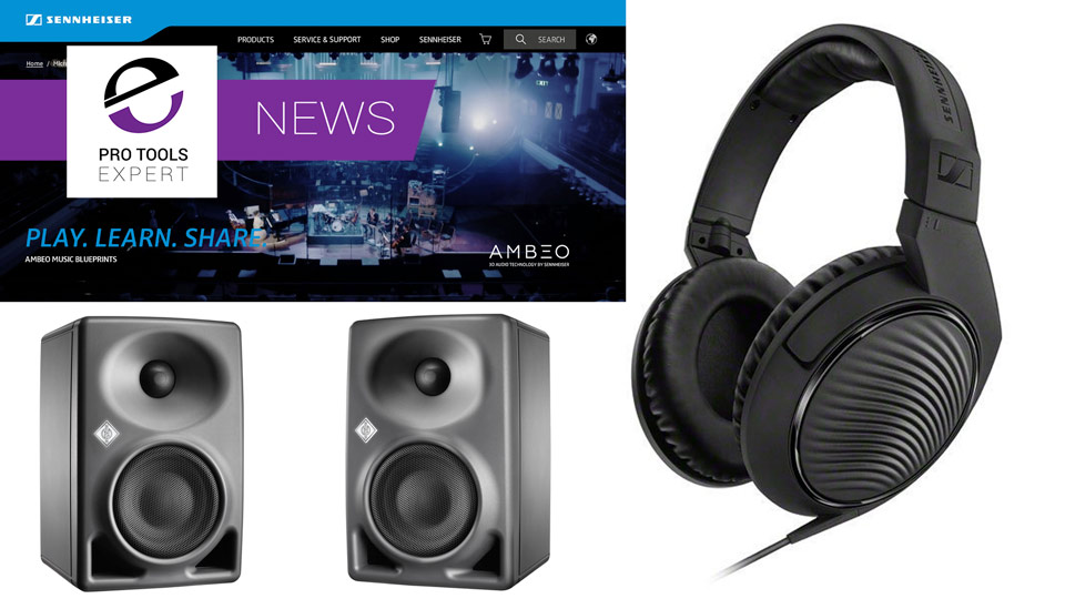 Sennheiser And Neumann Announce New Products At NAMM 2017