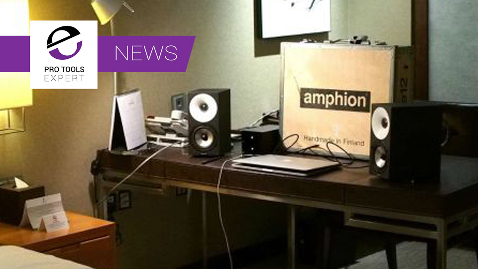 Amphion Announce Shipping Amphion MobileOne12 Portable Monitor System At NAMM 2017