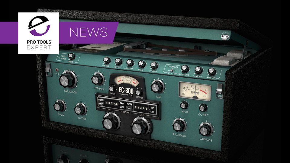 McDSP Announce EC-300 Echo Collection Plugin At NAMM 2017