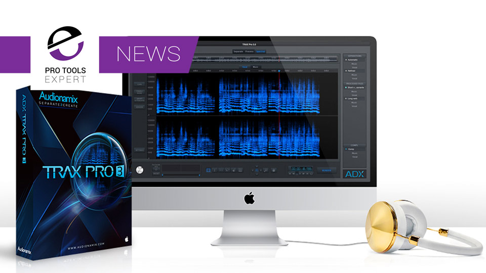 Audionamix Announce Trax Pro 3 At NAMM 2017