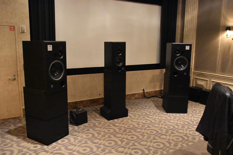The amazing sounding ATC monitors.