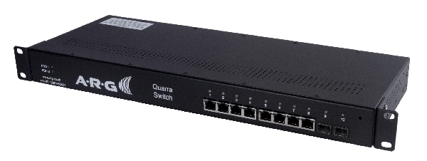ARG Introduces Quarra 10100 PTP Smart Ethernet Switch