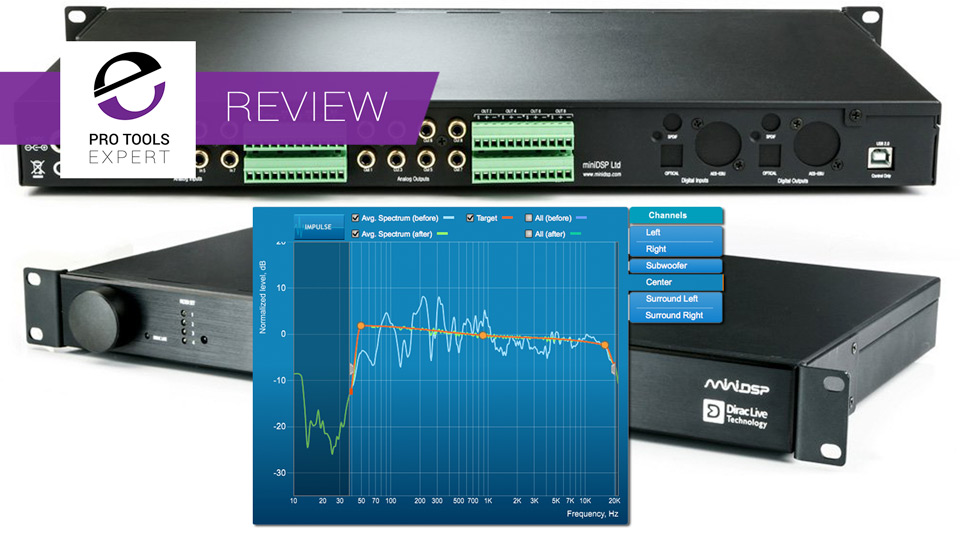 Review - miniDSP DDRC-88A With Dirac Live Room Correction System