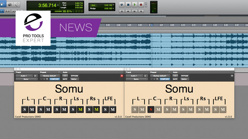 Somu - A Simple 5.1 And 7.1 Solo & Mute AAX Plugin