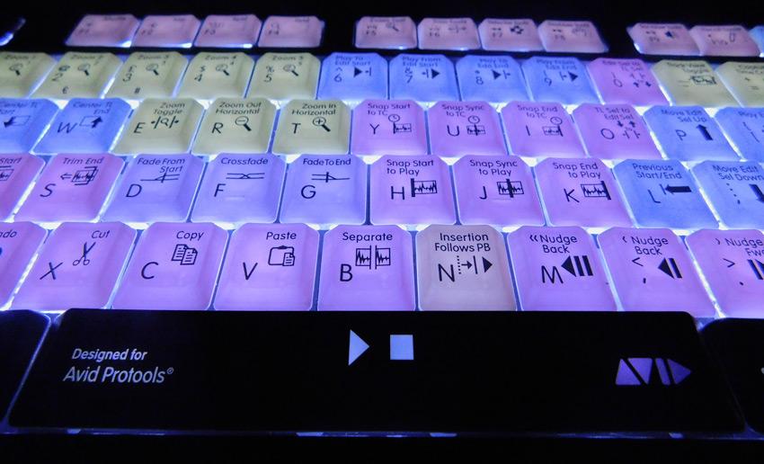 LogicKeyboard Astra Pro Tools Backlit Keyboard