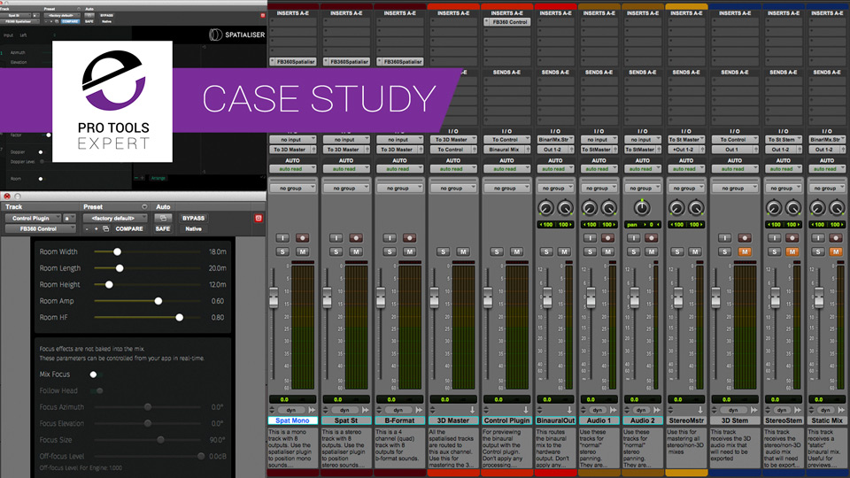 Developing a 3D Audio Workflow For Virtual Reality In Pro Tools
