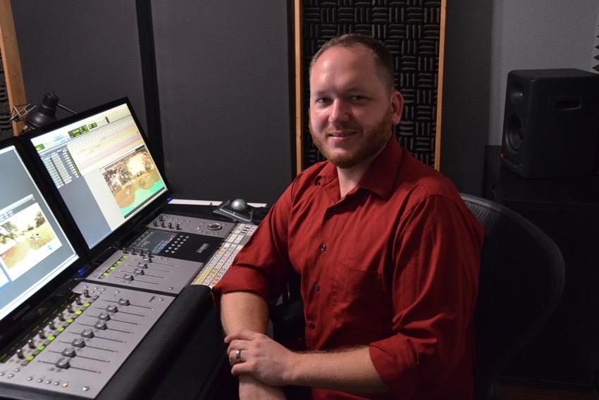 Korey Pereira who is a sound editor and mixer based in Austin, Texas