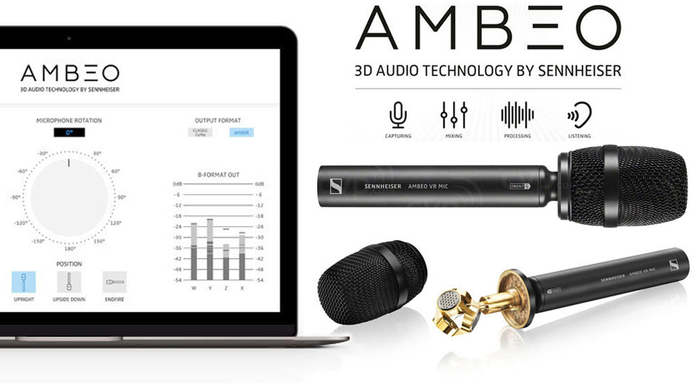 Sennheiser Ambeo microphone