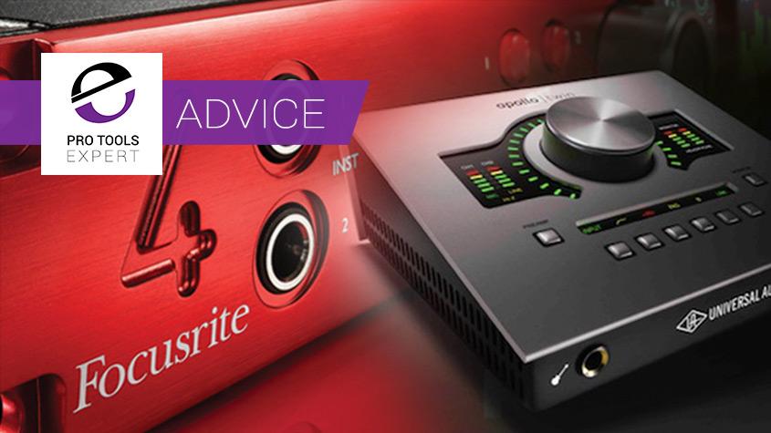 Pro Tools Audio Interfaces