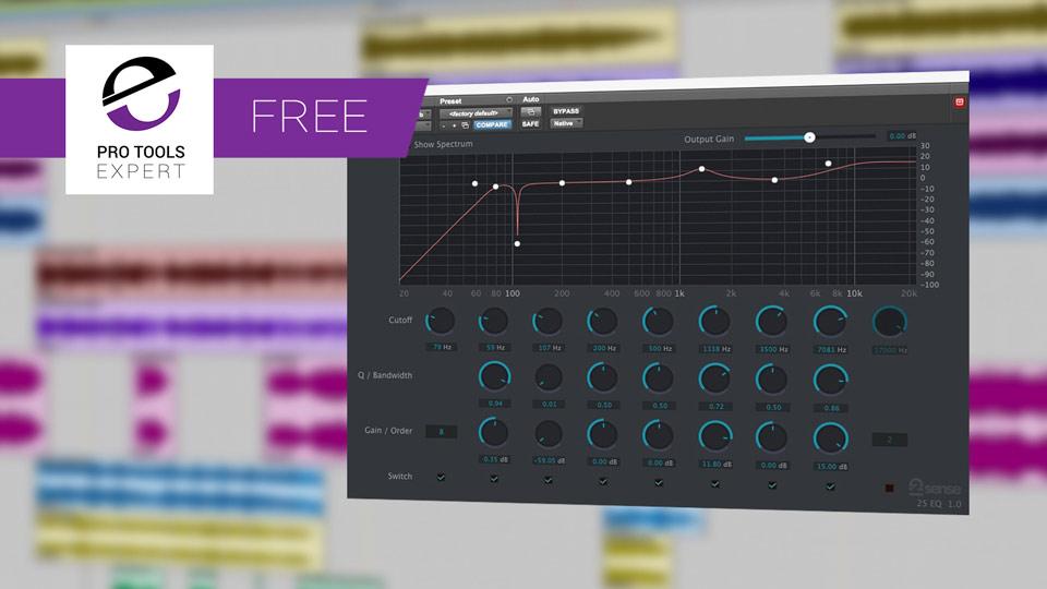 Friday Free Plug-in - 2nd Sense Audio 2S EQ Plug-in