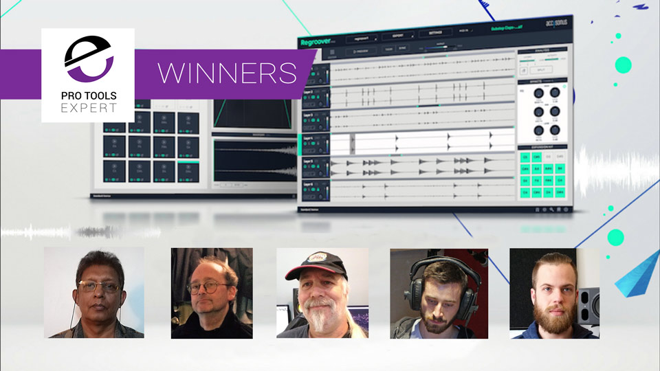 Winners Of The Accusonus Regroover Essential Competition