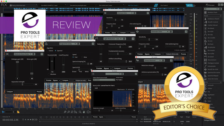 iZotope Release RX6 And RX6 Advanced - We Have An Exclusive Review