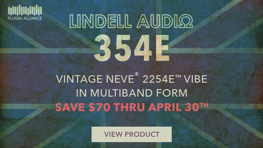 Plugin Alliance Release Lindell Audio 354E Multiband Mastering Plug-in