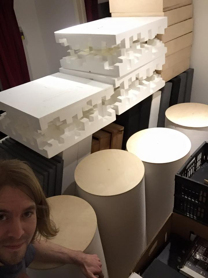 Acoustic Panels Take Up A Lot Of Space When Unmounted