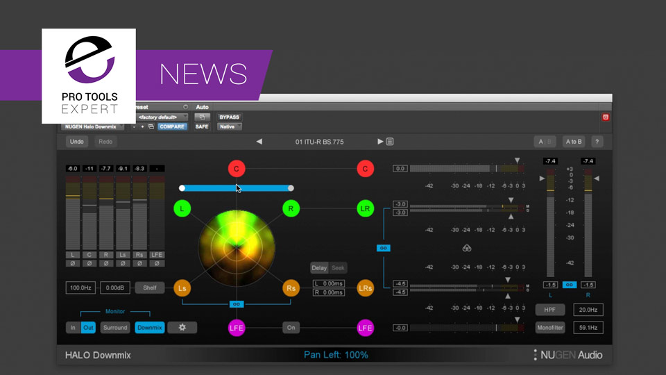 Nugen Audio Release Halo Downmix Plug-in - We Have an Exclusive Review