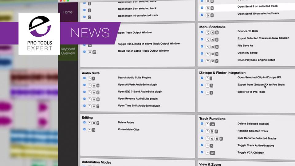 Danish Film Sound Designer Releases SoundFlow Shortcuts App For Avid Pro Tools