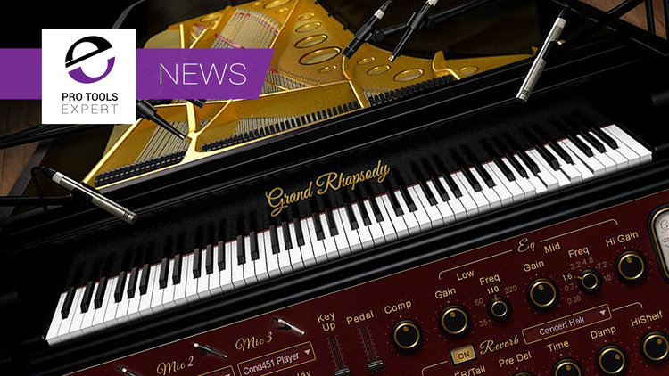 Waves Release New Keyboard Virtual Instrument - The Grand Rhapsody