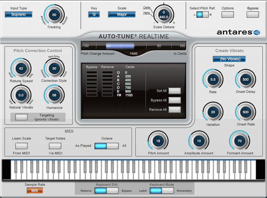 Antares Auto-Tune Realtime Plug-in - $249