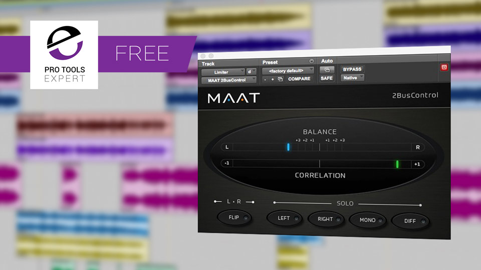 Friday free Plug-in - MAAT 2BusControl Metering And Monitor Control Plug-in