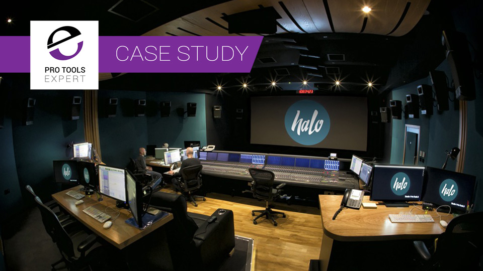 Case Study - Halo Post Production Studio One Dolby Atmos Upgrade