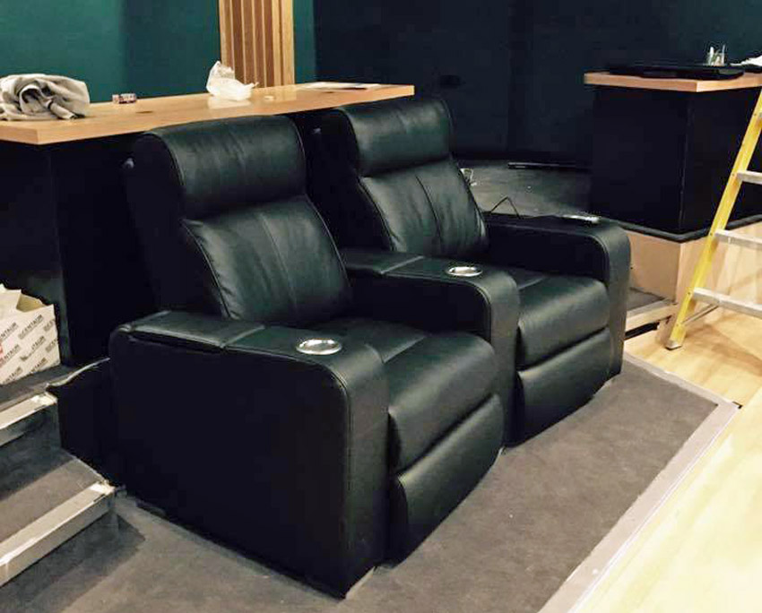 The new client seating