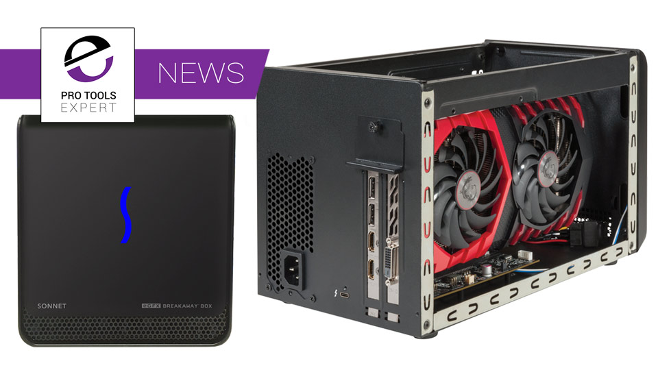 Sonnet Announce New Low Cost Thunderbolt 3 Single Slot PCIe Expansion Chassis