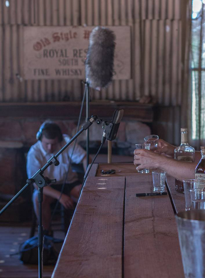 Recording Live Foley in the Outback Pub with Lachlan Harris
