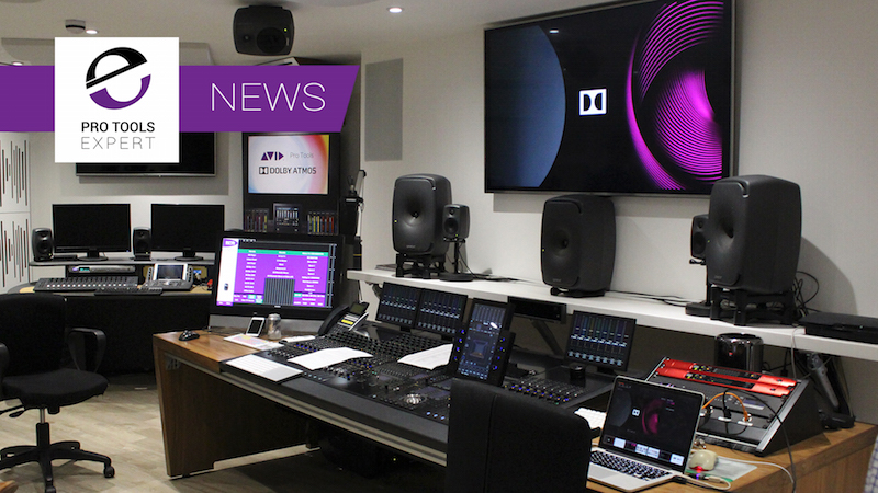 Pro Tools 12.8 Dolby Atmos Production Suite