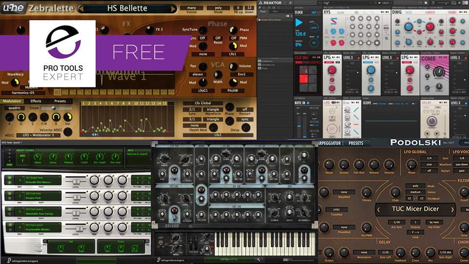 5 Free Pro Tools Synth Plug-ins Worth Checking Out