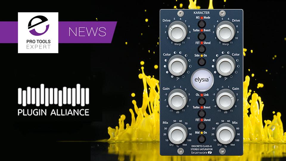Plugin Alliance Release Elysia Karacter Saturator Plug-in
