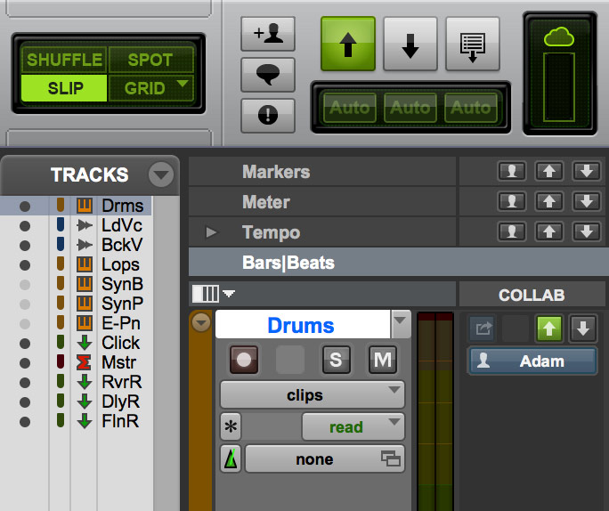 Pro Tools First Collaborate
