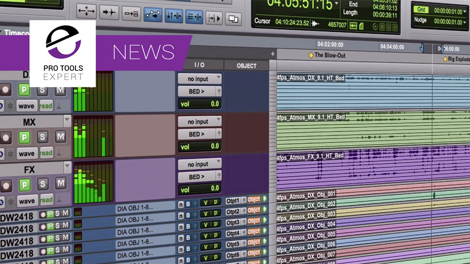Avid Release Pro Tools 12.8HD With Complete Dolby Atmos Integration