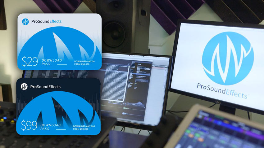 Avid Offer Special Download Passes To Pro Sound Effects Library Until July 31st 2017