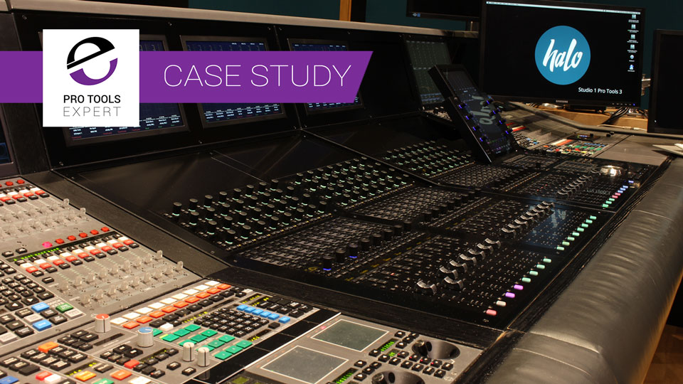 Case Study - Halo Post Production Choose Frozen Fish Design Hybrid AMS Neve DFC & Avid S6 Solution For Upgraded Dolby Atmos Studio 1