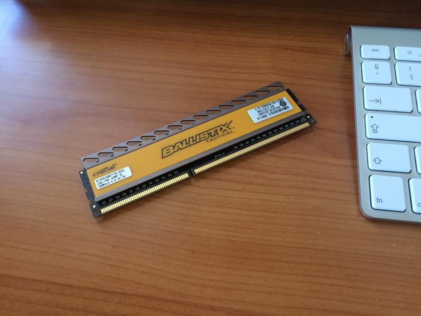 Faulty Memory Stick