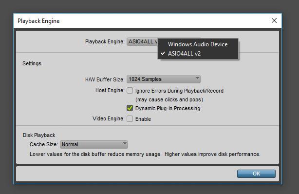 Pro Tools Playback Engine