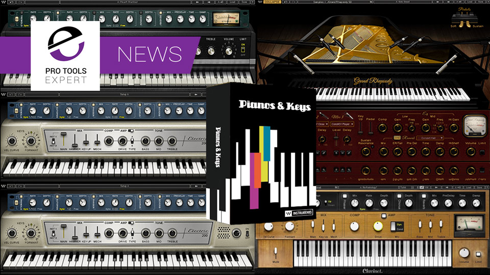 Waves Release Piano And Keys Bundle With 5 Virtual Instruments