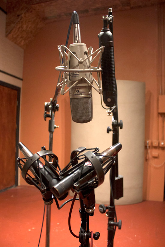 Recording Stringed Instruments All Mics