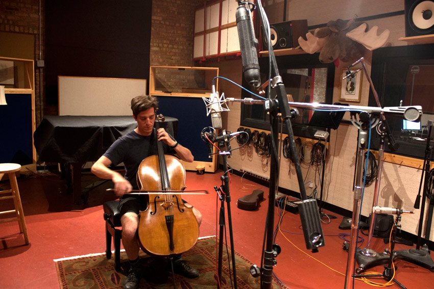 Mark Bridges, cellist