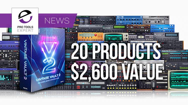 UVI Release New Vintage Vault 2 Synth Instrument Bundle For $599
