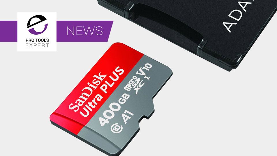 SanDisk Announce 400GB MicroSD Card - A Replacement For Media Drives?
