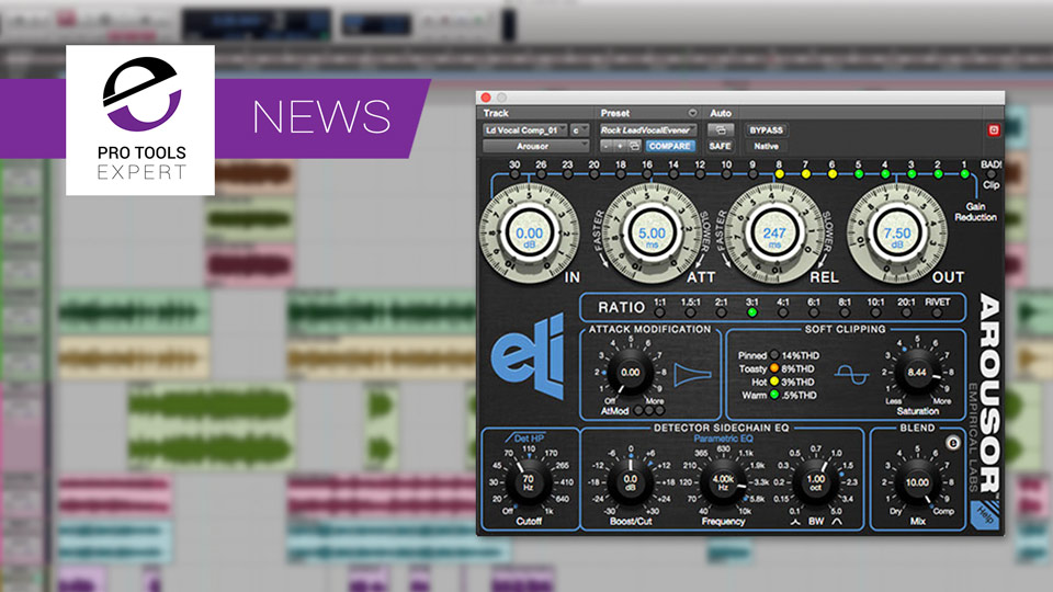 Empirical Labs Release Arouser 2 Plug-in With AAX DSP Support
