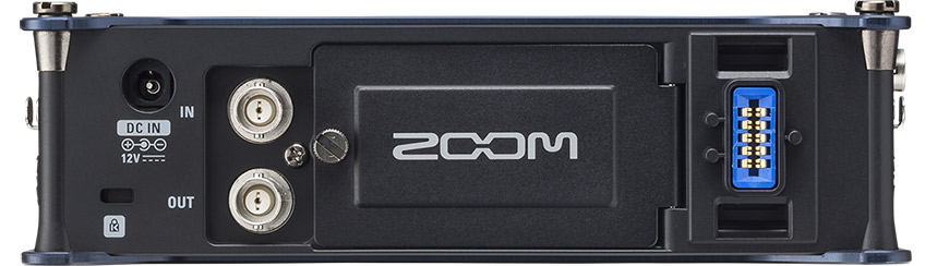 Zoom F8 Rear Panel