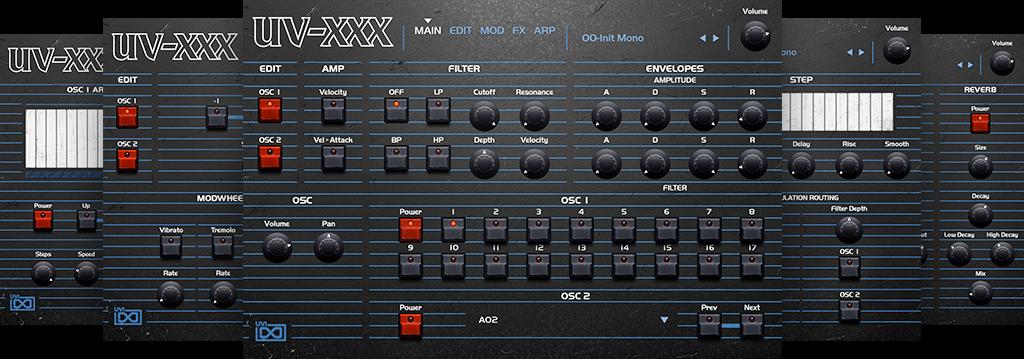 UV-XXX
